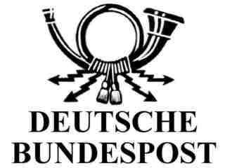 Logo Deutsche Bundespost
