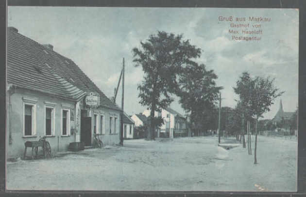 Gasthaus Narkau im Jahre 1915. / the districts of the city in the year 1915.